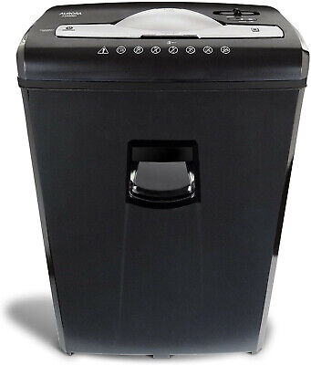 Aurora Au650ma High-security 6-sheet Micro-cut Paper Credit Card Shredder New Fr