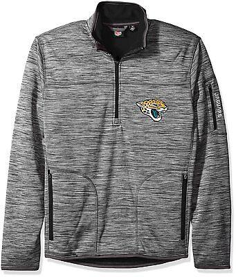 (GIII Jacksonville Jacguars NFL Men's Fast Pace Half Zip Pullover Jacket Medium)