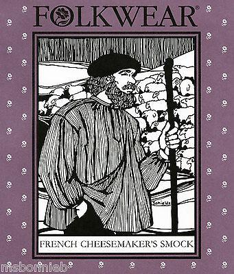 Folkwear French Cheesemaker's Smock - Loose Shirt Sewing Pattern 102 Men/misses
