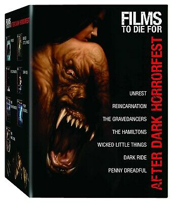 After Dark Horrorfest Films to Die For Collection Set (Unrest/Reincarnation/Dark