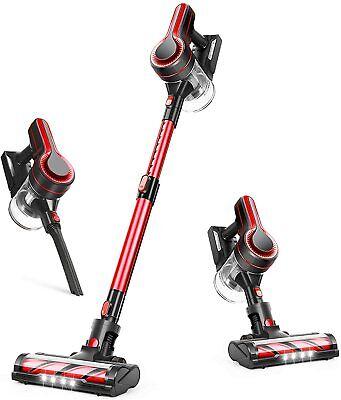 APOSEN H250 Cordless Vacuum Cleaner, Upgraded 24kpa Stick Vacuum For Pet Carpet