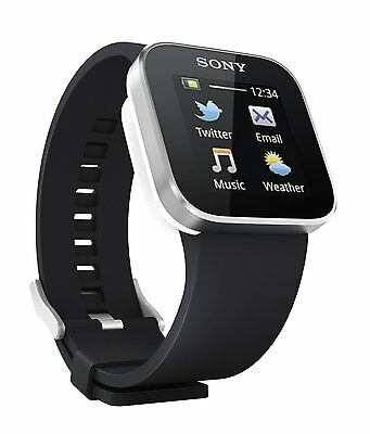 Sony MN2SW SmartWatch for Android Phones (Black) 12546627 on Rummage