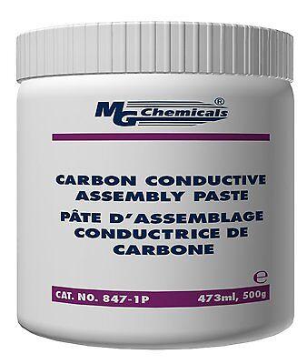 Mg Chemicals 847-1p Black Carbon Conductive Assembly Paste 1 Pint Jar