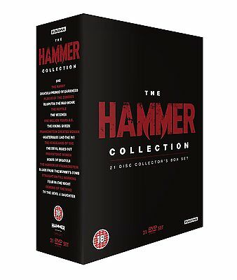 The Ultimate Hammer Collection . 21 Movies . Horror . 21 DVD Box . NEU . OVP - Ultimate Hammer