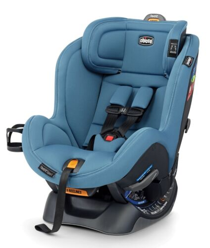 Chicco NextFit Sport Convertible Child Safety Baby Car Seat Sky NEW