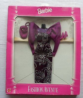 Barbie Deluxe-light blue evening Gown (New)