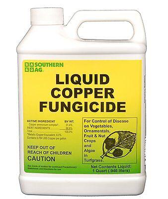 Southern Ag Liquid Copper Fungicide 32 Oz  Quart