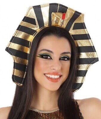 Ladies Egyptian Cleopatra Pharaoh Headband Hairband Fancy Dress Costume Outfit