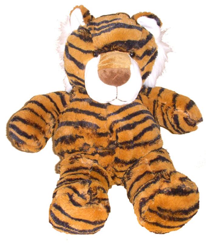 Unstuffed Tiger Orange Black Build Stuff Your Own Animal NeW