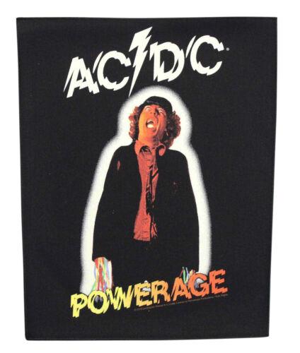 Large AC/DC Powerage Woven Sew On Battle Jacket Back Patch