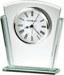 Howard Miller Granby Table Clock 645-781 – Modern Glass & Quartz Alarm Movement