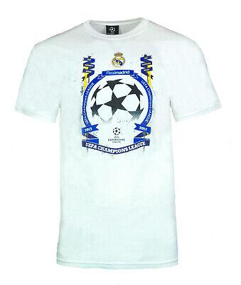 Real Madrid Football T Shirt Mens Medium Champions League 2013/14