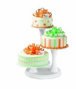 3 Tier Wedding Cake Stands