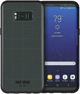 [NEW] Samsung GALAXY S8/S8+ - OFFICIAL JACK SPADE  Case - GREY - FREE P&P to UK