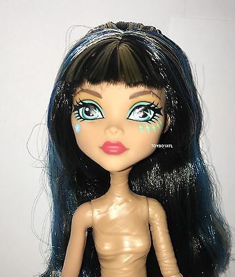 The Monster High (Welcome Monster High Dance the Fright Away Cleo de Nile Nude Doll NEW for)