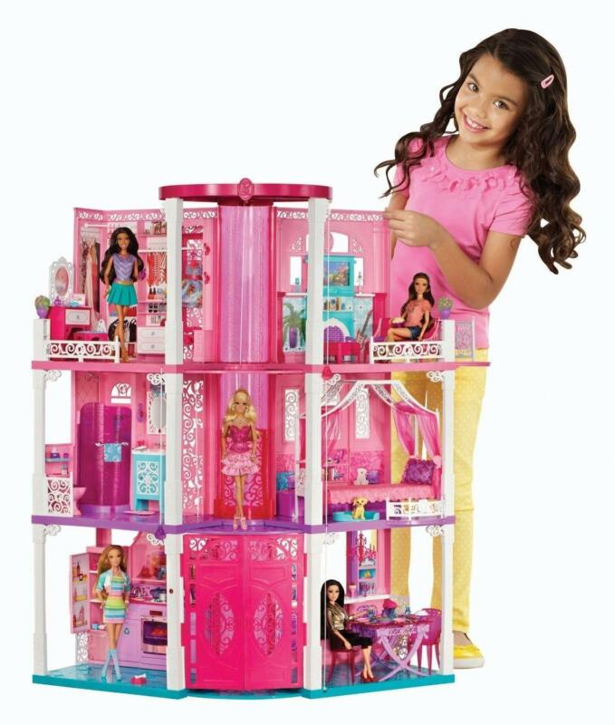 2 Story Barbie Beach House: Barbie Dream House