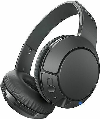 TCL MTRO Series Wireless On-Ear Bluetooth Headphones with Mic - Shadow Black