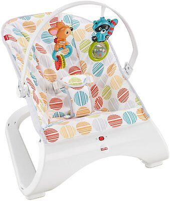FISHER-PRICE COMFORT CURVE BOUNCER MULTI COLOR Baby Babies Bouncy Seat Chair NEW for sale  Shipping to India