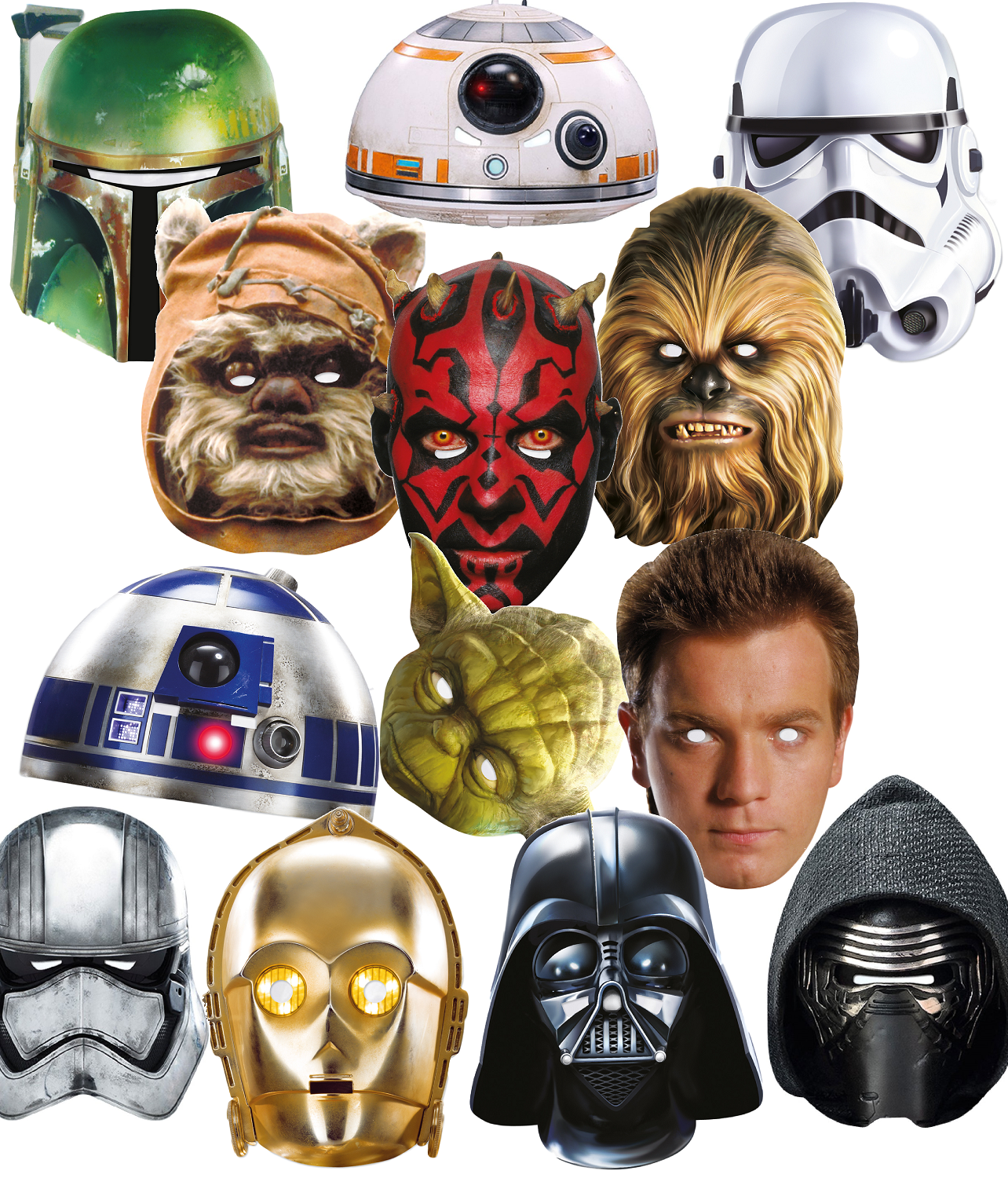 Adults Star Wars Movie Film TV Space Halloween Fancy Dress C