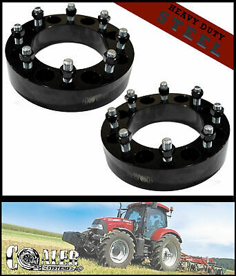 High Quality Steel Skid Steer Wheel Spacers 2 Bobcat Case John Deere Cat Terex