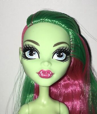 Monster High Party Ghouls Venus McFlytrap Nude Plant Monster Doll NEW for OOAK