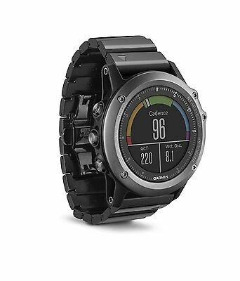 Garmin 010-01338-20 fenix 3 Sapphire Multisport Training GPS Watch