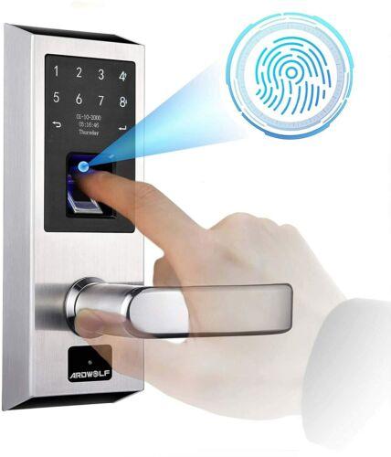 NEW Ardwolf Keyless Entry Right-Handled Door Lock with Fingerprint - No Wifi