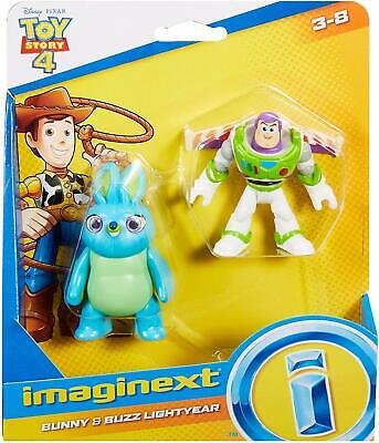 Imaginext Toy Story 4 - Bunny and Buzz Lightyear Figures BRAND NEW