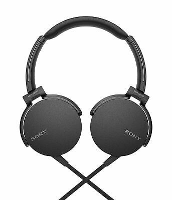 Sony MDR XB550 AP Extra Bass On-Ear Headphone (Black)  for sale  Shipping to India