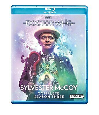 Doctor Who: Sylvester McCoy Complete Season Three (Blu-ray) BRAND NEW