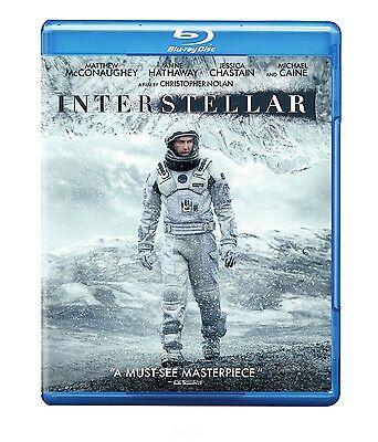 Interstellar  Blu Ray Disc  2015  2 Disc Set  Matthew Mcconaughey Anne Hathaway