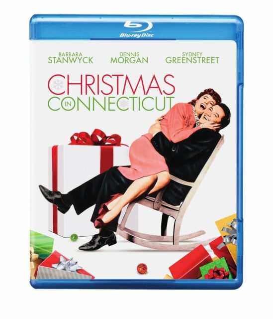 CHRISTMAS IN CONNECTICUT (Barbara Stanwyck) Blu Ray - Sealed Region free for UK