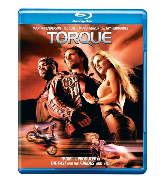 TORQUE (2004 Martin Henderson, Ice Cube) -  Blu Ray - Sealed Region free for UK