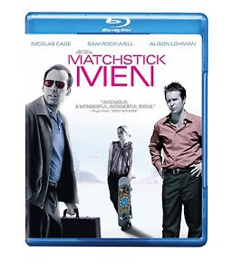 MATCHSTICK MEN (Nicolas Cage, Sam Rockwell) -  Blu Ray - Region free