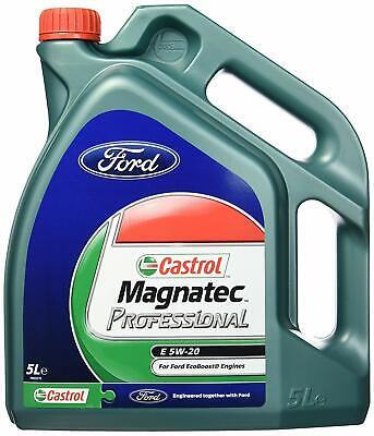Fiesta ST180 Genuine Ford Oil Service Kit - Castrol E5w-20 5L & Gen Oil Filter