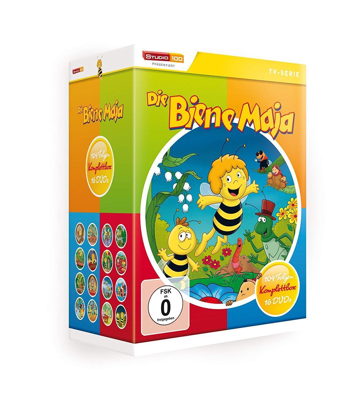 Die Biene Maja - die komplette Serie Komplettbox - 16 DVD Box NEUWARE OVP