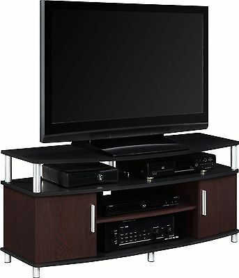TV Stand Console Entertainment Media Center Storage ...
