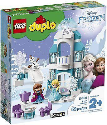 Lego 10899 Duplo 2+ Disney Frozen Ice Castle NEW Elsa Anna Olaf Lights 59 Pieces