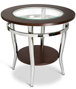 Incroyable Round Glass Top Coffee Table