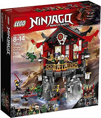 LEGO® Ninjago 70643 Temple of Resurrection (756 pieces)
