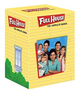 FULL HOUSE COMPLETE SERIES SEASONS 1,2,3,4,5,6,7,8 R4,  32 DISC BOXSET 1-8