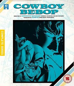 Cowboy Bebop Complete Series Collection Blu-ray New & Sealed ANIME Region B AL