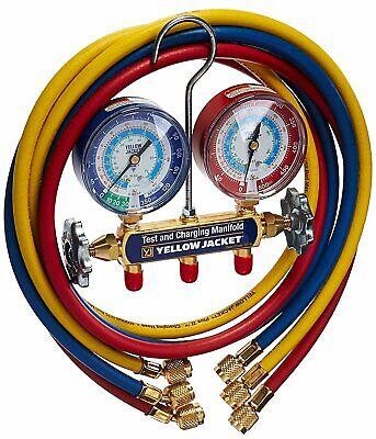 Yellow Jacket 42006 2-valve Mechanical Manifold Gauge Set