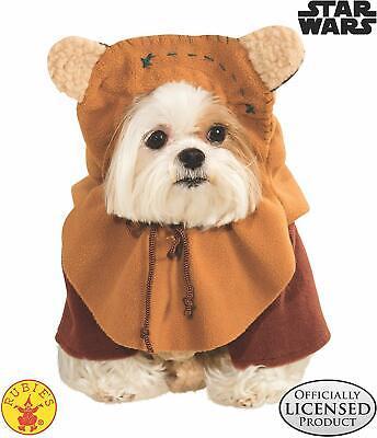 Ewok Pet Costume (Rubie's Pet Shop Ewok Costume-Free)