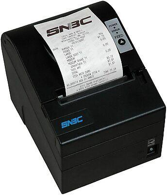 Pos Receipt Printer-snbc Btp-r880npv-black Usbserialip- Black 132040-npv New