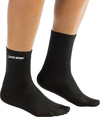 Cressi Elastic Water Sport Adult Socks for Snorkeling, Scuba Diving