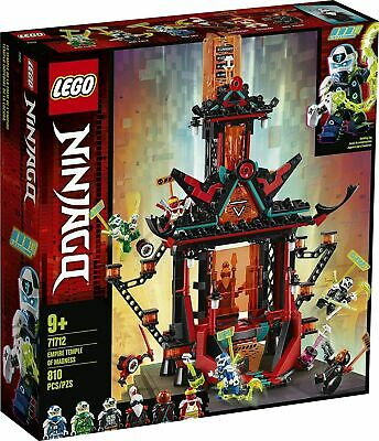 NEW Lego Ninjago 71712 Empire Temple of Madness w/ 6 minifigs NEW
