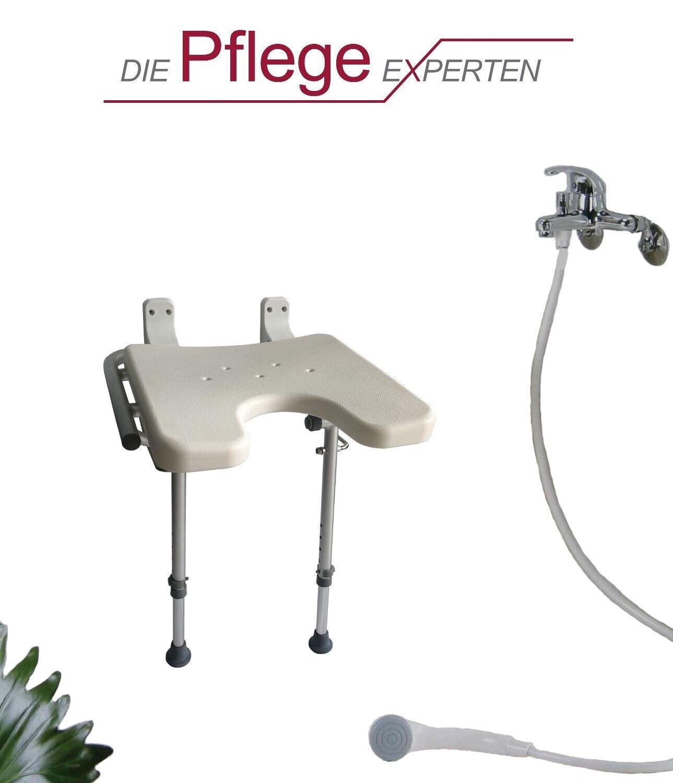 Duschsitz für die Wandmontage Duschstuhl Duschklappsitz Wand