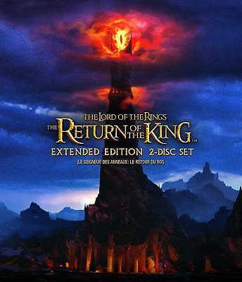 The Lord of the Rings: The Return of the King (2-Disc Extended Edition) [Blu-ray](Homecoming King)
