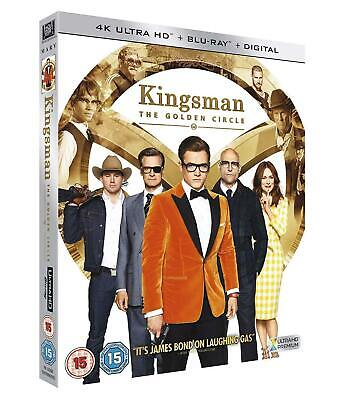 4K ULTRA HD BLU-RAY - KINGSMAN THE GOLDEN CIRCLE  WITH SLIP COVERNEW AND SEALED